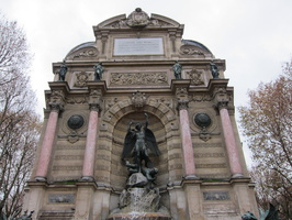Fontaine St Michel- Paris