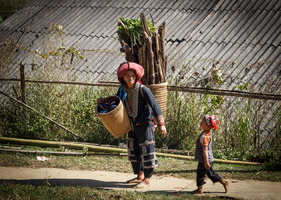 Village des Yaos Rouges  -  Sapa (Vietnam)